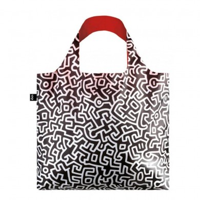 Borsa Shopping Bag Haring Political Line - Loqi