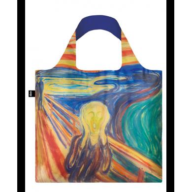 Borsa Shopping Bag Munch Scream - Loqi