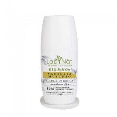 Deodorante roll-on VANIGLIA & MUSCHIO - LabNatu