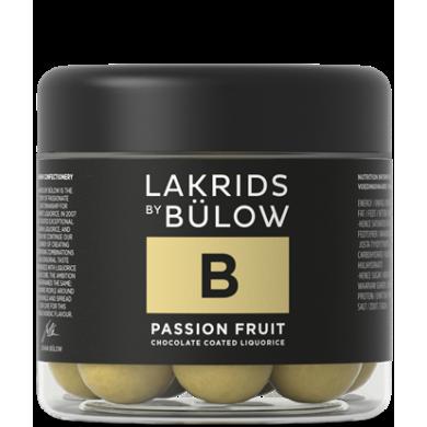 B - PASSION FRUIT Cuore morbido di liquirizia, cioccolato bianco e fruit passion - Lakrids