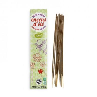 Encens d'étè Bastoncini d'incenso da Interno Antizanzare 100% Naturali 10 pz - Aromandise
