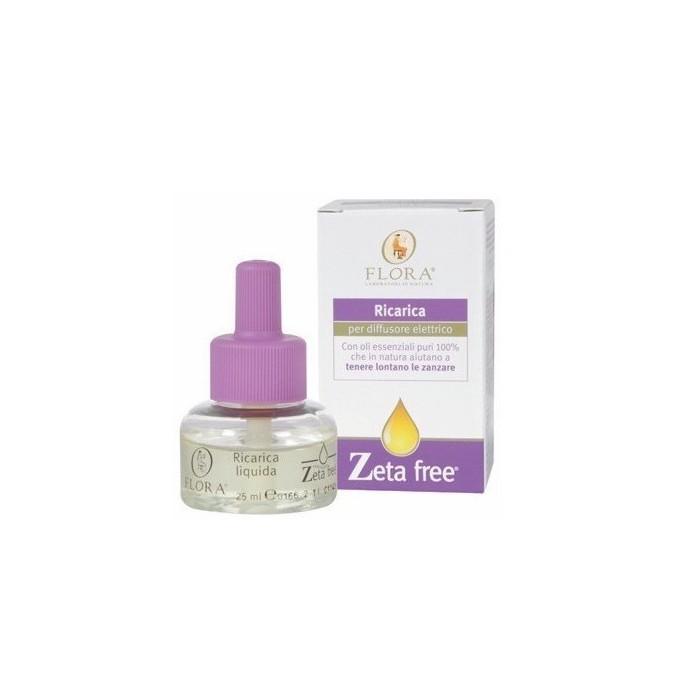Ricarica Zeta Free 25 ml Anti zanzare - Flora