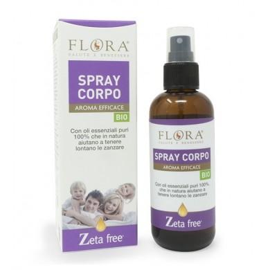 Zeta Free Spray Corpo BIO-ICEA 100 ml - Flora