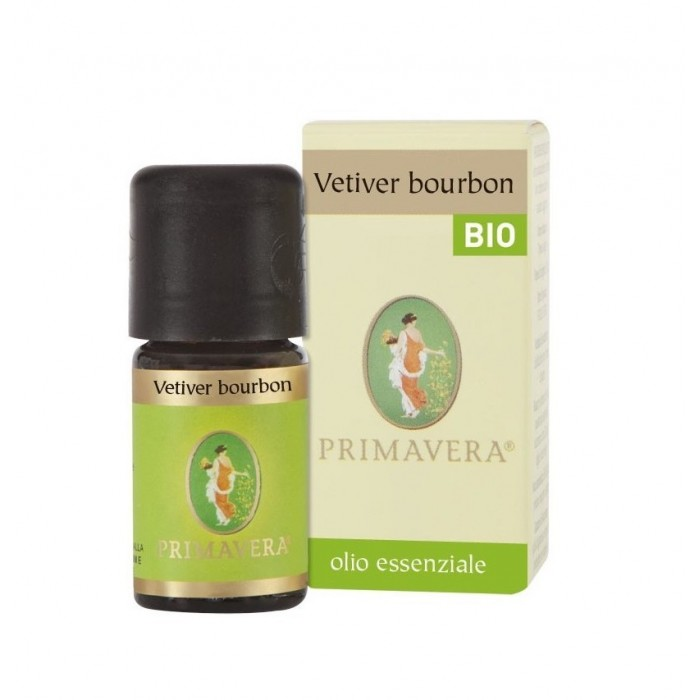 Olio Essenziale di Vetiver Bourbon Bio Codex 5 ml - Flora