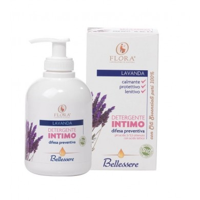 Bellessere Detergente Intimo Lavanda BDIH-BIO - Flora