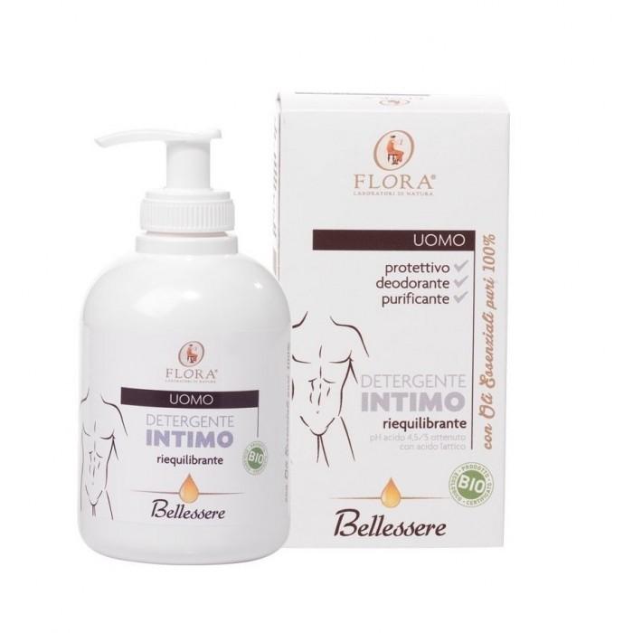 Bellessere Detergente Intimo Uomo BDIH-BIO - Flora