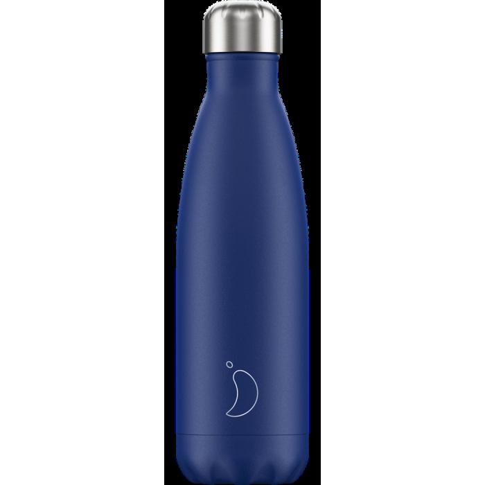 Chilly's Matte Blue - Bottiglia in acciaio inox