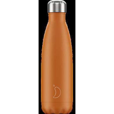 Chilly's Matte Orange - Bottiglia in acciaio inox