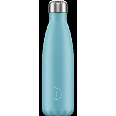 Chilly's Pastel Blue - Bottiglia in acciaio inox
