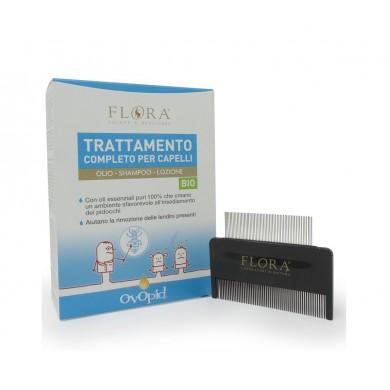 Kit Ovopid Trattamento Completo pediculosi BIO-BDIH-ICEA - Flora