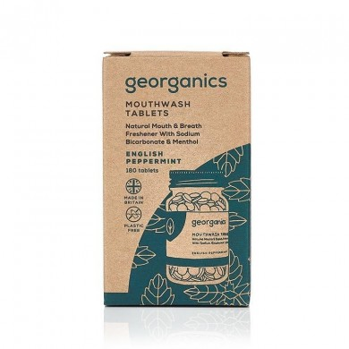 Collutorio in compresse English Peppermint 180 cps - Georganics
