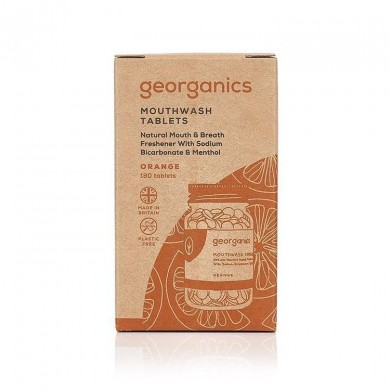 Collutorio in compresse Orange - Georganics