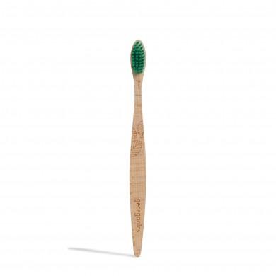 Spazzolino da denti in faggio compostabile Setole medie - Georganics