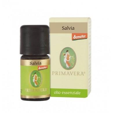 Olio Essenziale di Salvia 5 ml BIO-DEMETER - Flora