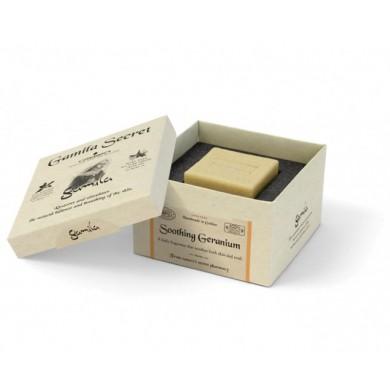 Sapone Soothing Geranium 115 gr - Gamila Secret