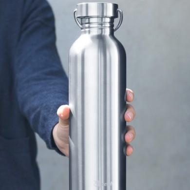 Borraccia Flask in acciaio inox 1 L - Qwetch