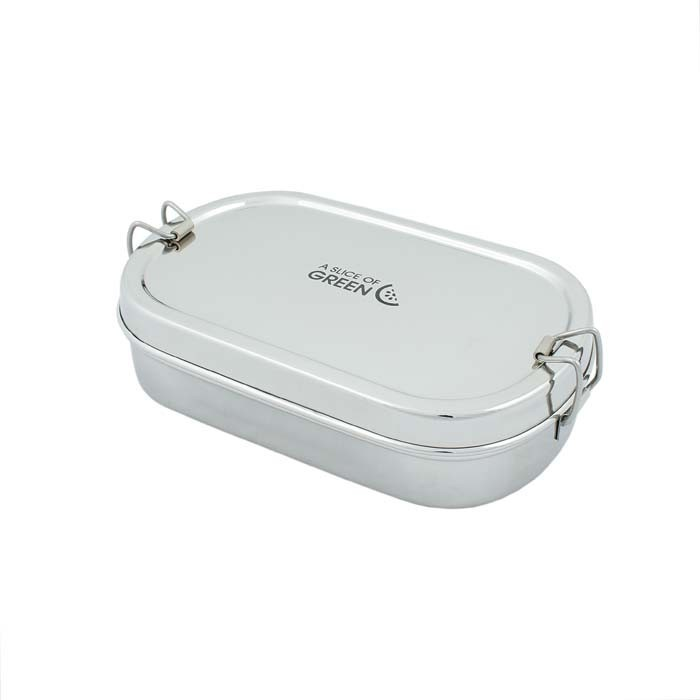 Kangra Lunch Box in acciaio inox - A Slice of Green