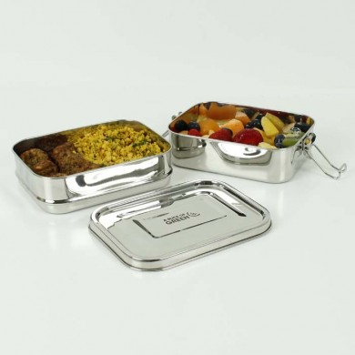 Buruni Lunch Box due livelli in acciaio inox - A Slice of Green