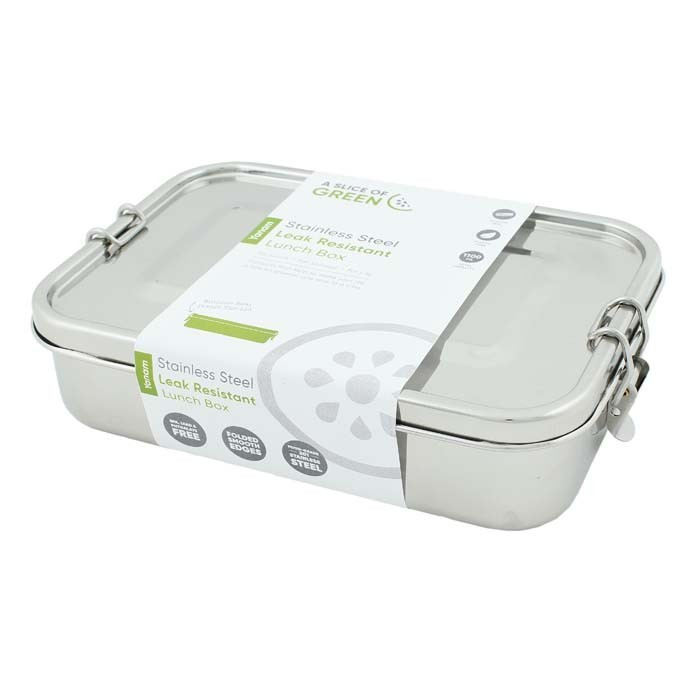 Yanam Lunch Box in acciaio inox - A Slice of Green