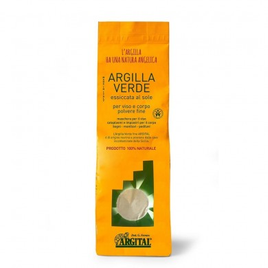 Argilla Verde Fine essiccata 1Kg - Argital