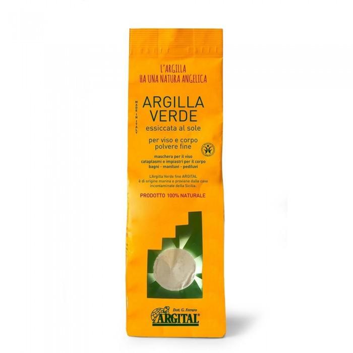 Argilla Verde Fine essiccata 2,5 Kg - Argital