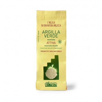 Argilla Verde ventilata attiva 500 gr - Argital