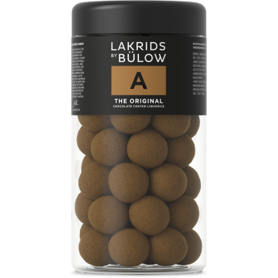 A - THE ORIGINAL Liquirizia e cioccolato al latte 295 gr - Lakrids