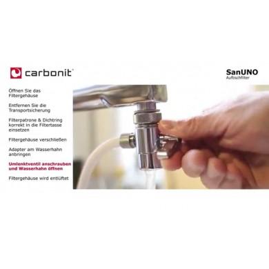 Carbonit Sanuno Potabile Filtro Acqua Acqua