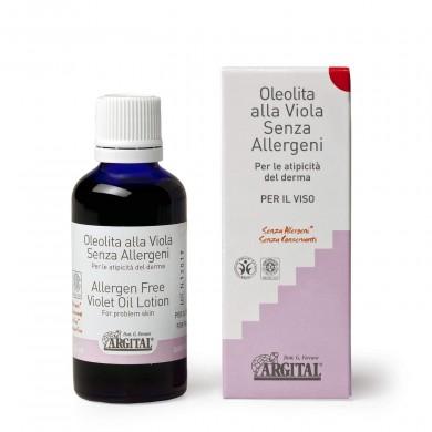Oleolita alla Viola senza allergeni 50 ml - Argital