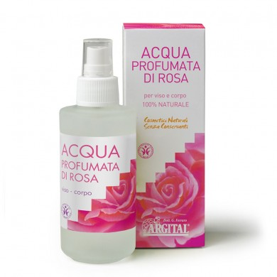 Acqua profumata di Rosa 125 ml - Argital