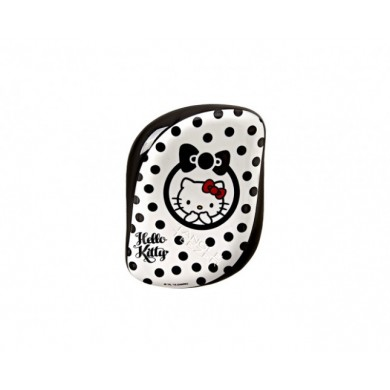 Spazzola Compact Styler Hello Kitty Black & White - Tangle Teezer