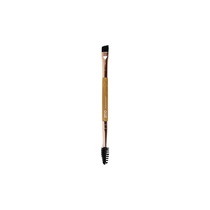 Bamboo Duo Eye Brow Brush - Zao