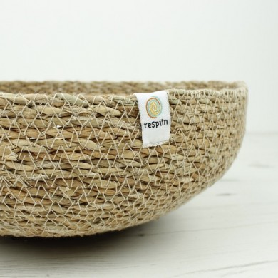 Cestino medio in seagrass Natural - Respiin